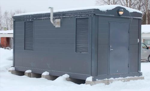 Voimalaite Paroc konehuone 15-3000 kVA